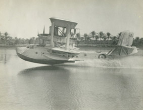 British flying boat at Basra, 1930